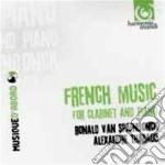 Musica francese per clarinetto e pianofo cd musicale di Miscellanee