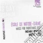 Scuola Di Notre Dame: Messa Del Giorno Di Natale cd musicale di Miscellanee