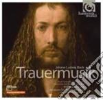 Trauermusik cd musicale di BACH JOHANN LUDWIG