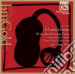 El amor brujo, el retablo de maese pedro cd musicale di Falla emanuel de