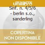 Sinf. n. 4/5/6 - berlin s.o., sanderling cd musicale di Chaikovsky