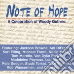 Note of hope cd musicale di Artisti Vari