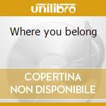 Where you belong cd musicale di Aftertouch