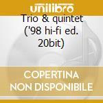 Trio & quintet ('98 hi-fi ed. 20bit) cd musicale di Duke Jordan