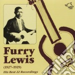 Furry Lewis - 1927-1929 cd musicale di Furry Lewis