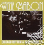 I don't know - mabon willie cd musicale di Mabon Willie