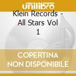 Klein records all stars vol.1 cd musicale