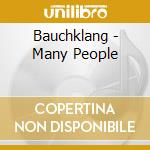 Bauchklang - Many People cd musicale di BAUCHKLANG