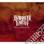 The devil's resolve cd musicale di Earth Barren
