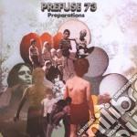PREPARATIONS cd musicale di PREFUSE 73