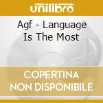 Language is the most cd musicale di Agf