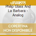Analog cd musicale di Philip Glass