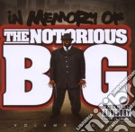 IN MEMORY OF VOL 4 cd musicale di NOTORIUS BIG