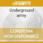 Underground army cd musicale di Casualties