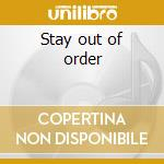 Stay out of order cd musicale di Casualties