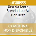 At his best cd musicale di Brenda Lee