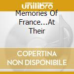 Memories of france...at their best cd musicale