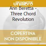 Three chord revolution cd musicale