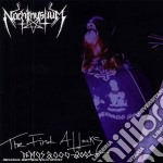 FIRST ATTACKS DEMOS, THE cd musicale di NACHTMYSTIUM