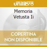 MEMORIA VETUSTA II                        cd musicale di BLUT AUS NORD