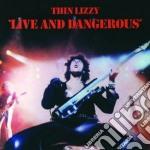 (LP VINILE) Live and dangerous lp vinile di Lizzy Thin