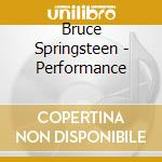 Performance cd musicale di Bruce Springsteen