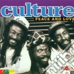 Peace & love cd musicale di Culture