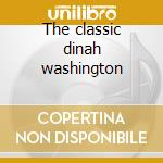The classic dinah washington cd musicale