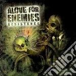 Resistance cd musicale di Alove for enemies