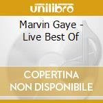 MARVIN GAYE LIVE cd musicale di GAYE MARVIN