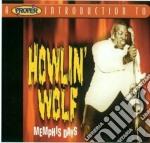Memphis days cd musicale di Howlin Wolf