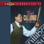 Zah,zuh,zaz cd musicale di Cab Calloway
