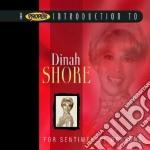 Dinah Shore - For Sentimental Reasons cd musicale di Dinah Shore