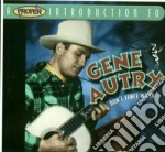 Don't fence me in cd musicale di Gene Autry