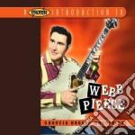 Groovie boogie woogie boy cd musicale di Webb Pierce
