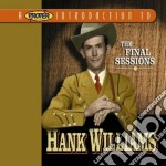 The final sessions cd musicale di Williams Hank