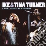 Live, raw & funky cd musicale di Ike & tina Turner