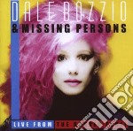Live from the danger zone cd musicale di Dale bozzio & missin