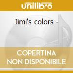 Jimi's colors - cd musicale di Lockwood Francis