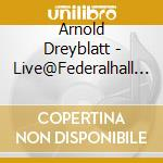 LIVE AT FEDERAL HALL NAT cd musicale