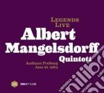 Albert Mangelsdorff Quintet - Legends Live 1964 cd musicale di Albert Mangelsdorff