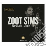 Zoot sims cd musicale di Miscellanee