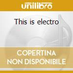This is electro cd musicale