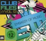 Ministry of sound - club files vol.13 cd musicale di Artisti Vari