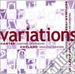 Orchestral variations cd musicale di COPLAND/CARTER