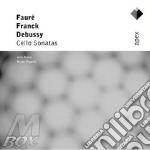 Apex: cello sonate cd musicale di Debussy-franck-faure