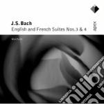 Apex: suites francesi e inglesi 3 & 4 cd musicale di Bach\curtis