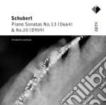 Apex: sonate per piano nn. 13 & 20 cd musicale di Schubert\leonskaja