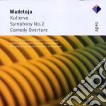 Madetoja - Panula-rautio-segerstam - Apex: Sinfonia N.2 - Comedy Ouverture - Kullervo cd musicale di Madetoja\panula-raut
