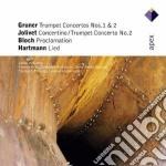 Apex: concerti per tromba 1 & 2 - lied cd musicale di Gruner-jolivet-bloch